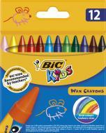 Олівці воскові 12 шт. BWax Crayons 8396061 BIC