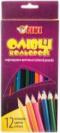 Олівці кольорові 51602-ТК 12 шт. Тікі