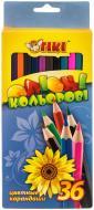 Олівці кольорові 51603-ТК 36 шт. Тікі