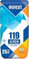 Клей для теплоизоляции Ферозит для утепления фасадов типа Бетоль 119 25 кг