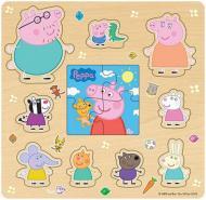 Пазл деревянный Peppa Pig Друзья Пеппы 2 в 1 24454