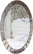 Зеркало Бусел овал с бевелсами 1000x1200 мм