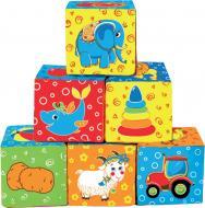 Кубики Macик Мій маленький світ МС 090601-01