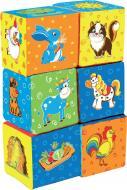 Кубики Macик Ферма МС 090601-02