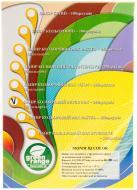 Папір офісний Mondi A4 80 г/м Super Mix 250 аркушів різнокольоровий