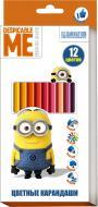Олівці кольорові 12 кольорів, Universal Studios Перо