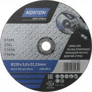 Круг відрізний по металу Norton A30S 230x3,0x22,2 мм