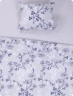 Комплект постельного белья Полевые цветы 1,5 фиолетовый
