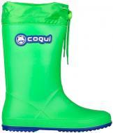 Сапоги Coqui 8509 Lime/Roya 8509 Lime/Roya р.32 зелено-синий