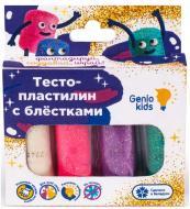 Тісто для ліплення Genio Kids 4 кольори з блискітками TA1087