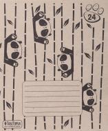 Зошит шкільний ЕКО 24 аркуша в лінію Мрії збуваються