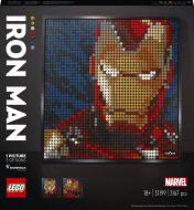 Конструктор LEGO Art Marvel Studios: Залізна людина 31199