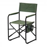 Кресло раскладное Vitan Режиссер без полочки, зеленый меланж