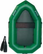 Човен надувний Ладья ЛО-190Е зелений