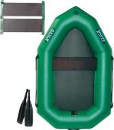 Човен надувний Ладья ЛО-190ЕС зелений
