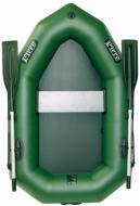 Човен надувний Ладья ЛО-190УЕ зелений