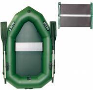 Човен надувний Ладья ЛО-190УЕС зелений