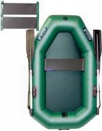 Човен надувний Ладья ЛТ-190УС зелений