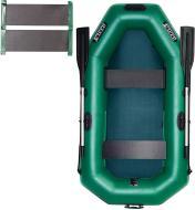 Човен надувний Ладья ЛТ-220ДЕС зелений