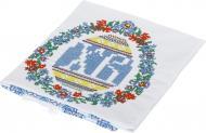 Рушник Пасхальний 949-18/00 33x85 см Едельвіка блакитний