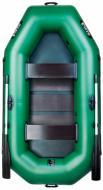 Човен надувний Ладья ЛТ-250ЕС зелений