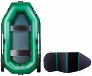 Човен надувний Ладья ЛТ-250БВ зелений