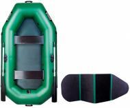 Човен надувний Ладья ЛТ-250ЕВ зелений