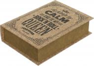 Скринька-книга Keep calm 30x22x7.5 см