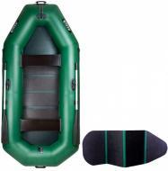 Човен надувний Ладья ЛТ-290ВБ зелений