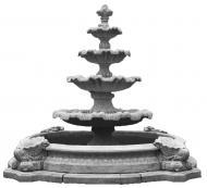 Фонтан декоративний Перлина в малому басейні базовий