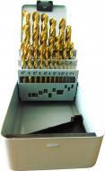 Набор сверл по металлу Vulkan HSS-TiN 34 мм 1-13 мм 25 шт. 61020251