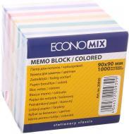Папір для нотаток Зебра 90*90 мм 1000 аркушів E20939 Economix
