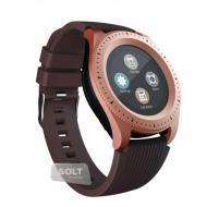 Смарт часы телефон Smart Watch Z3 Original для Android \ iPhone Бронзовые
