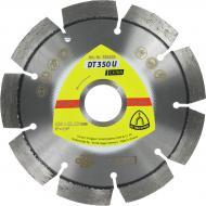 Диск алмазний відрізний Klingspor 1A1RSS Extra DT350U 125x2,4x22,2 універсальний