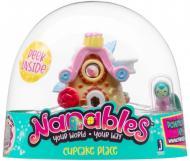 Игровой набор Jazwares Nanables Small House Город сладостей Кондитерская лучшие капкейки (NNB0010)