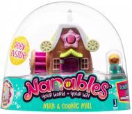 Игровой набор Jazwares Nanables Small House Город сладостей Магазин Печенье с молоком (NNB0012)