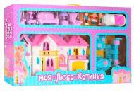 Будиночок для ляльок з меблями колір в асортименті WD-922C-D