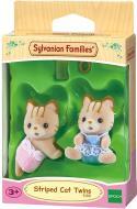 Игровой набор Sylvanian Families полосатыеКотята-двойнята