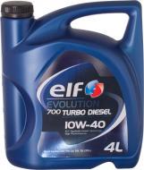 Моторне мастило Elf Evolution 700 Turbo Diesel 10W-40 4л