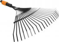 Граблі віялові Fiskars QuikFit 135201 для прибирання листя