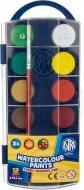 Фарби акварельні з європідвісом 12 кольорів Astra