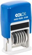 Міні-нумератор S126 6 розрядів 3,8 мм Colop