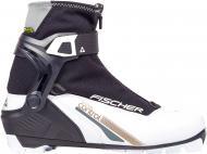 Ботинки для беговых лыж FISCHER XC Control My Style р. 38 S28219 черный с белым