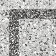 Плитка Golden Tile Steps сірий corner кут L32740 30x30