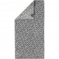 Полотенце махровое Ring 50x100 см темно-серый Cawo