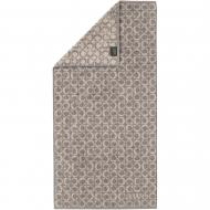 Полотенце махровое Ring 50x100 см графит Cawo