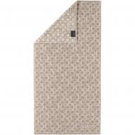 Полотенце махровое Ring 50x100 см песочный Cawo