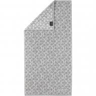 Полотенце махровое Ring 50x100 см платиновый Cawo