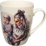 Чашка Family Look Love 400 мл Color M0520-NBM400-08 Milika