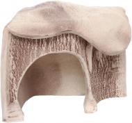Декорація Природа Грот для черепах кутова маленька 14х16х13 см